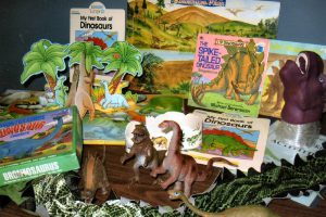 The Early Years kit includes felt dinos, puppets, borders, puzzle, books and more!
