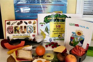 You're never to young to begin learning about healthy lifestyles and nutrition. Includes puzzles, activity sheets, plastic food, stencils, milk poster and video and books.